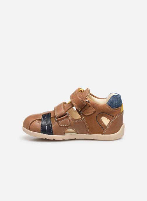 Sandales et nu-pieds Geox B Kaytan B0250A Marron vue face