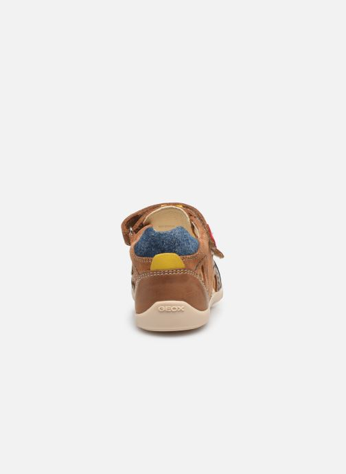 Sandales et nu-pieds Geox B Kaytan B0250A Marron vue droite
