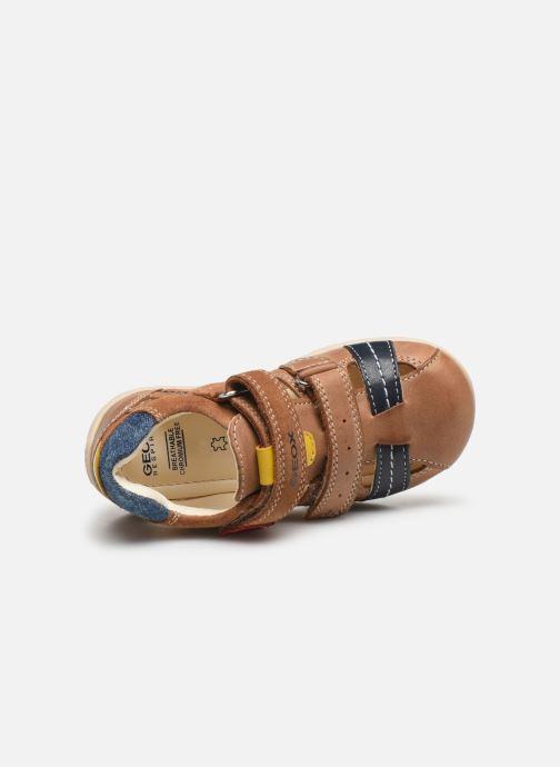 Sandales et nu-pieds Geox B Kaytan B0250A Marron vue gauche