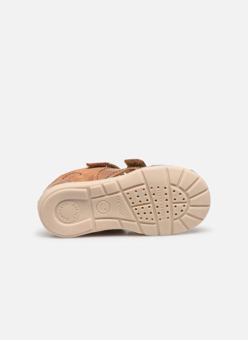 Sandales et nu-pieds Geox B Kaytan B0250A Marron vue haut