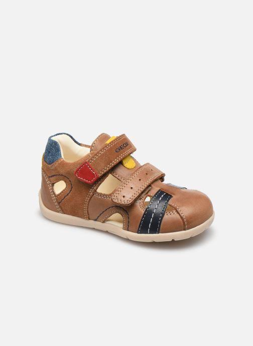 Sandales et nu-pieds Geox B Kaytan B0250A Marron vue détail/paire