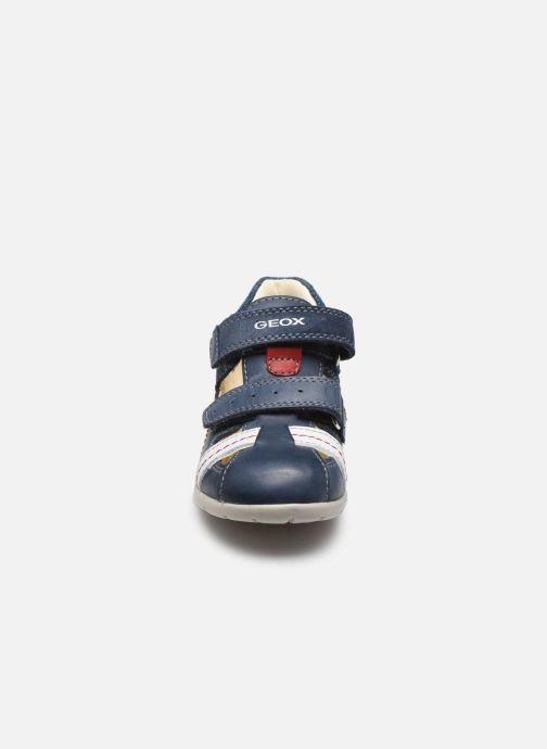 Sandales et nu-pieds Geox B Kaytan B0250A Bleu vue portées chaussures