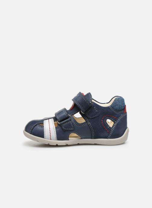 Sandales et nu-pieds Geox B Kaytan B0250A Bleu vue face