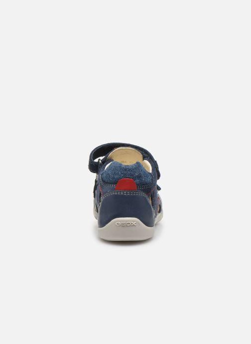 Sandales et nu-pieds Geox B Kaytan B0250A Bleu vue droite