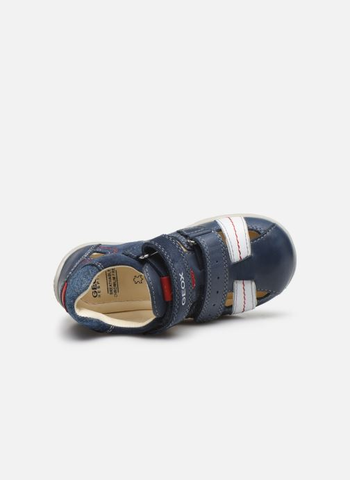 Sandales et nu-pieds Geox B Kaytan B0250A Bleu vue gauche