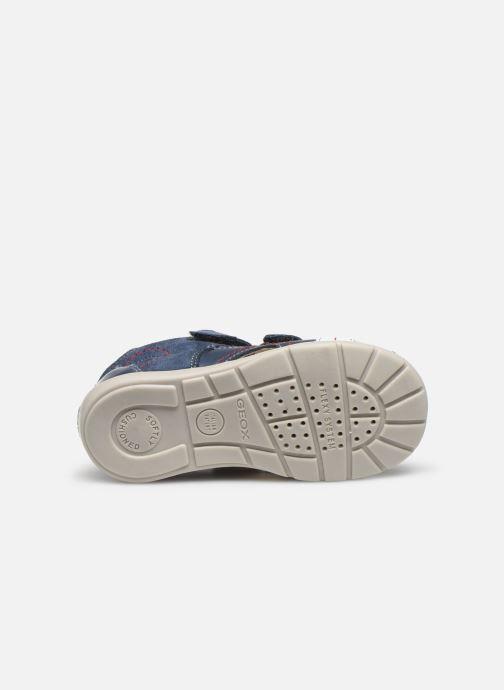 Sandales et nu-pieds Geox B Kaytan B0250A Bleu vue haut