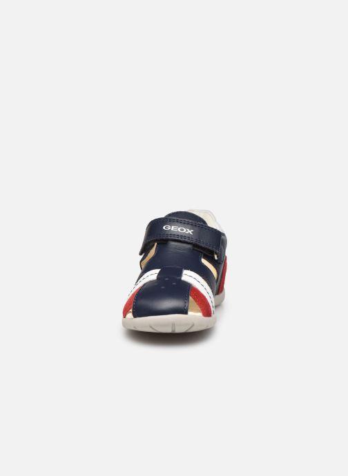 Sandales et nu-pieds Geox B Kaytan B0250B Bleu vue portées chaussures