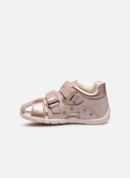 Sandales et nu-pieds Geox B Kaytan B0251A Rose vue face