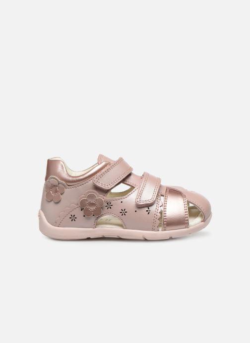 Sandales et nu-pieds Geox B Kaytan B0251A Rose vue derrière