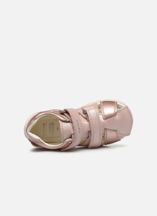 Sandales et nu-pieds Geox B Kaytan B0251A Rose vue gauche
