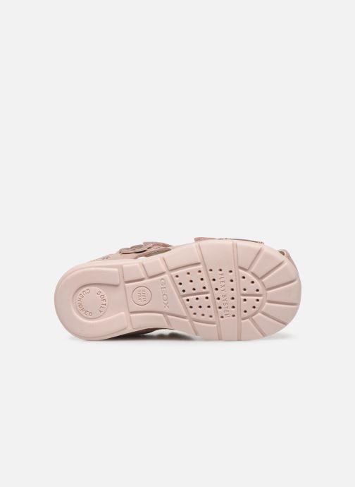 Sandales et nu-pieds Geox B Kaytan B0251A Rose vue haut