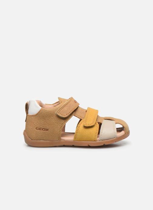 Sandales et nu-pieds Geox B Kaytan B0251D Jaune vue derrière