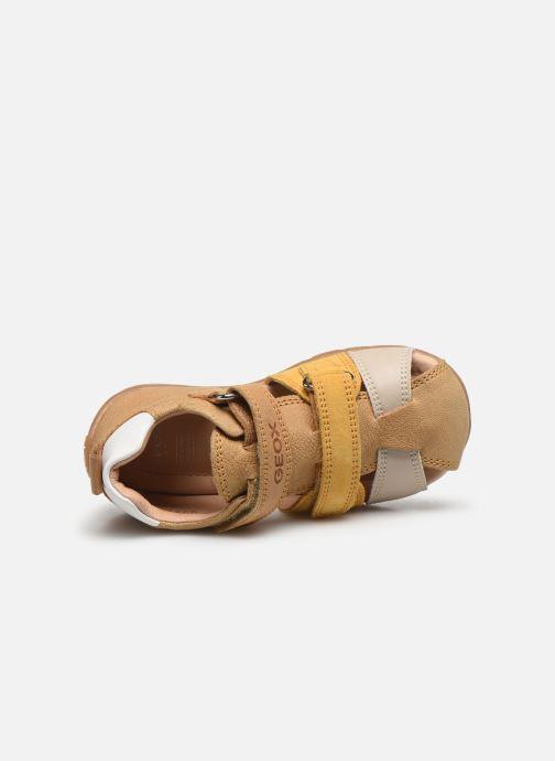 Sandales et nu-pieds Geox B Kaytan B0251D Jaune vue gauche