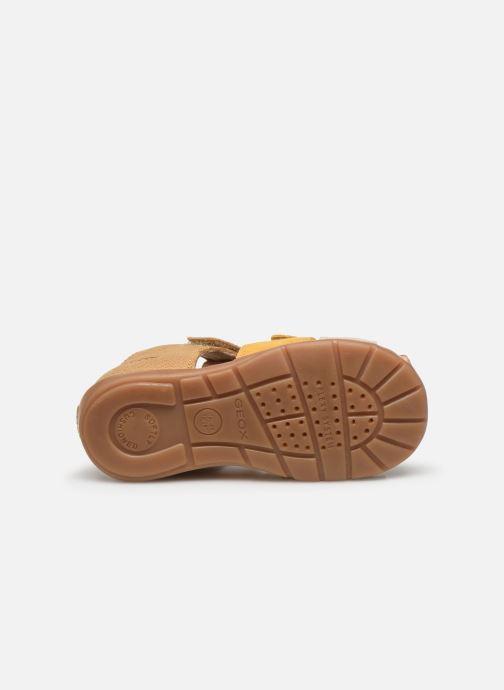 Sandales et nu-pieds Geox B Kaytan B0251D Jaune vue haut