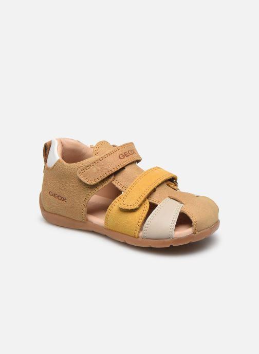 Sandales et nu-pieds Geox B Kaytan B0251D Jaune vue détail/paire
