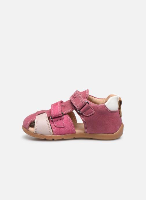 Sandales et nu-pieds Geox B Kaytan B0251D Rose vue face