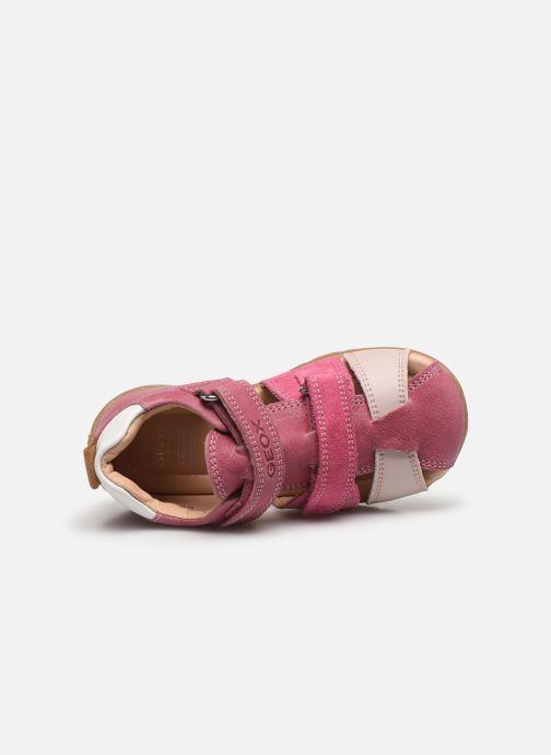 Sandales et nu-pieds Geox B Kaytan B0251D Rose vue gauche