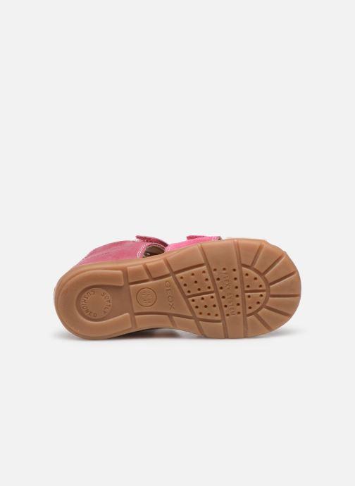 Sandales et nu-pieds Geox B Kaytan B0251D Rose vue haut