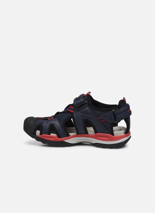 Sandales et nu-pieds Geox J Borealis Boy J020RA Bleu vue face