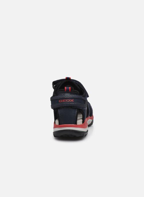 Sandales et nu-pieds Geox J Borealis Boy J020RA Bleu vue droite