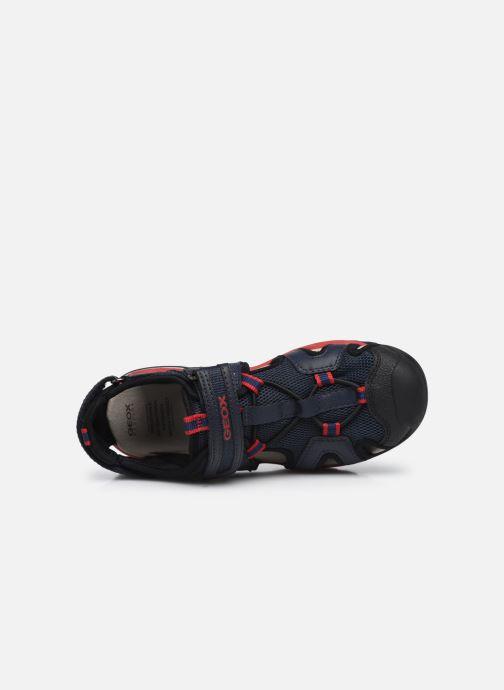 Sandales et nu-pieds Geox J Borealis Boy J020RA Bleu vue gauche
