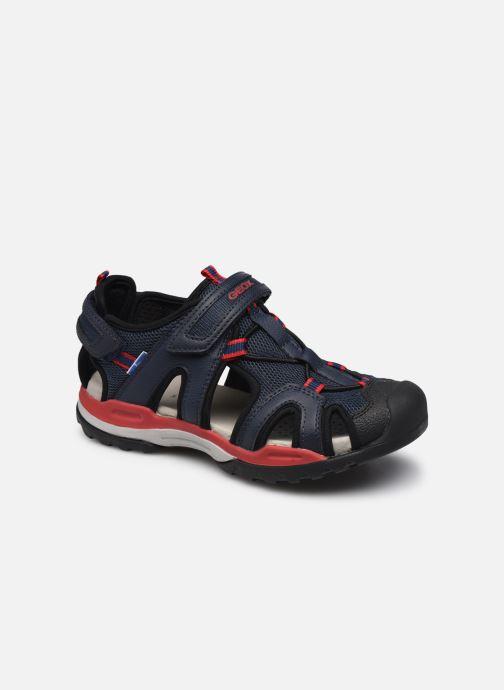 Sandales et nu-pieds Geox J Borealis Boy J020RA Bleu vue détail/paire