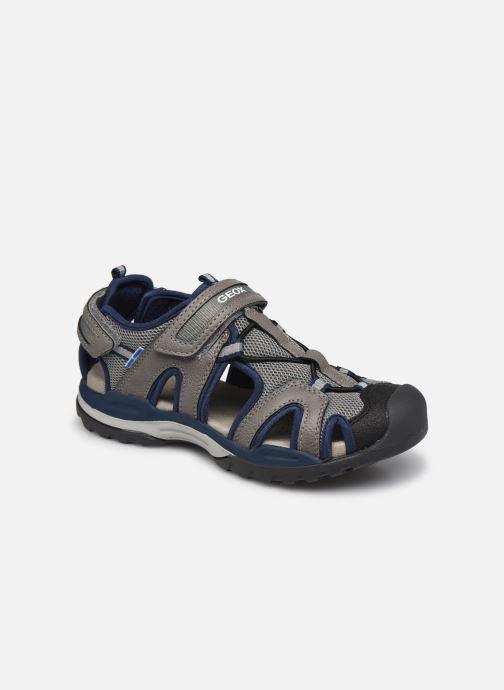 Sandales et nu-pieds Geox J Borealis Boy J020RA Gris vue détail/paire