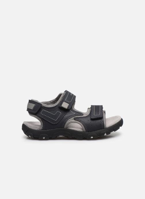 Sandales et nu-pieds Geox Jr Sandal Strada J0224A Bleu vue derrière