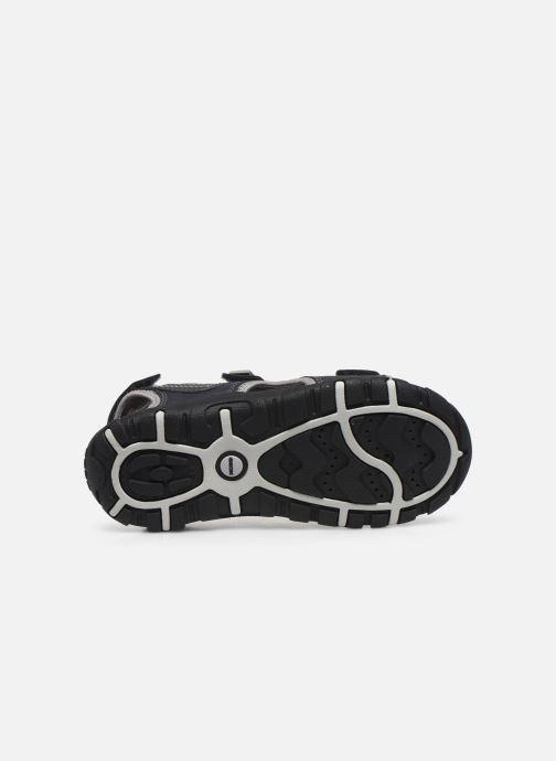 Sandales et nu-pieds Geox Jr Sandal Strada J0224A Bleu vue haut