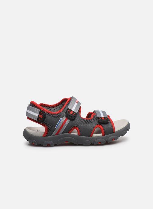 Sandales et nu-pieds Geox Jr Sandal Strada J0224B Gris vue derrière