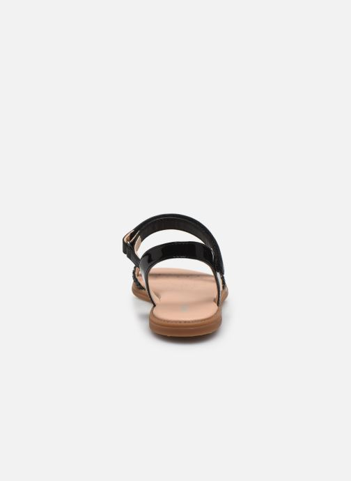 Sandales et nu-pieds Geox J Sandal Karly Girl J0235D Noir vue droite