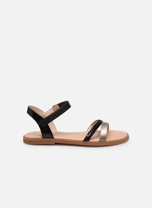 Sandales et nu-pieds Geox J Sandal Karly Girl J0235D Noir vue derrière