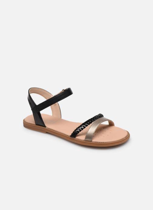 Sandales et nu-pieds Geox J Sandal Karly Girl J0235D Noir vue détail/paire