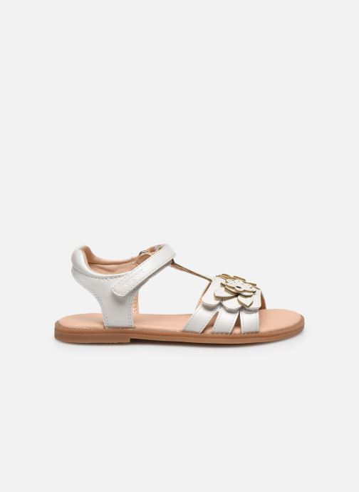 Sandales et nu-pieds Geox J Sandal Karly Girl J0235H Blanc vue derrière