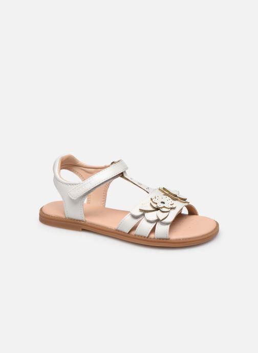 Sandales et nu-pieds Geox J Sandal Karly Girl J0235H Blanc vue détail/paire
