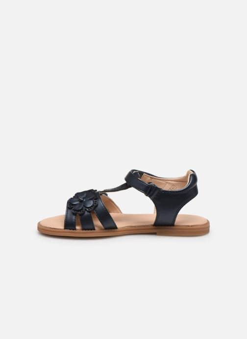 Sandali e scarpe aperte Geox J Sandal Karly Girl J0235H Azzurro immagine frontale