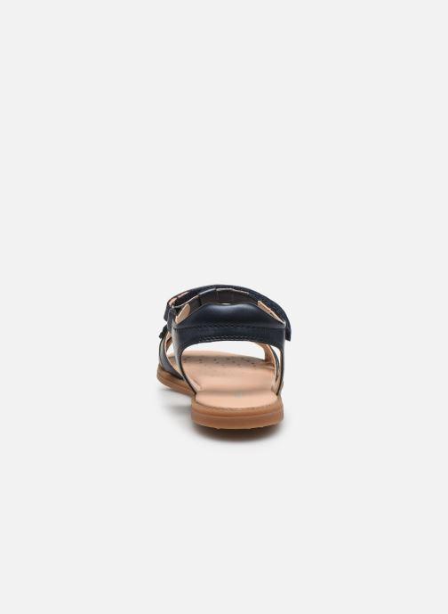 Sandali e scarpe aperte Geox J Sandal Karly Girl J0235H Azzurro immagine destra