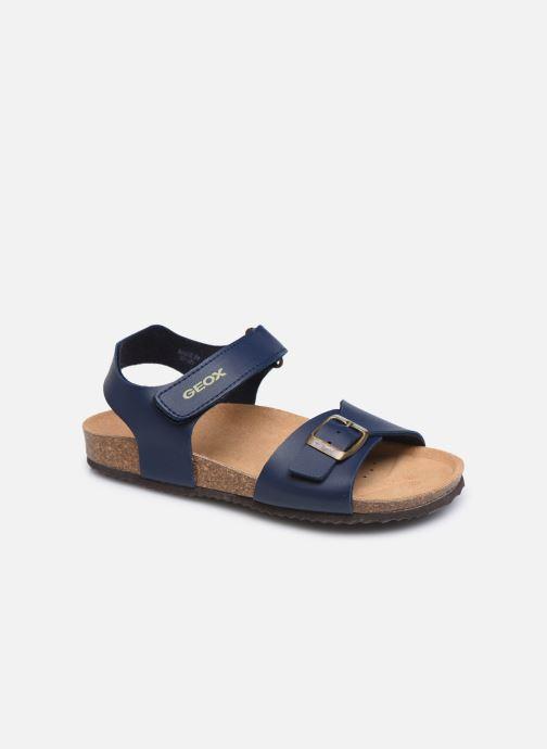 Sandales et nu-pieds Geox J Ghita Boy J028LB Bleu vue détail/paire