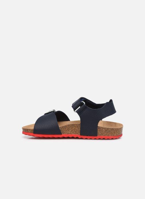 Sandales et nu-pieds Geox J Ghita Boy J028LB Bleu vue face
