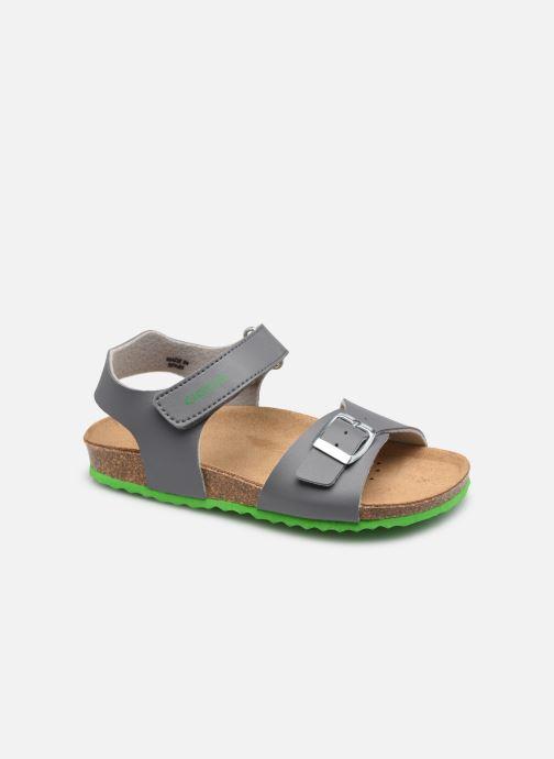 Sandales et nu-pieds Geox J Ghita Boy J028LB Gris vue détail/paire