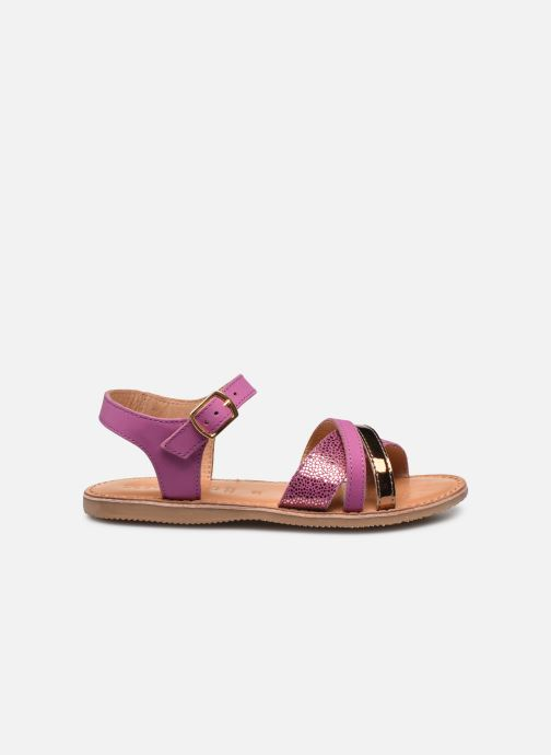 Sandali e scarpe aperte Geox J Sandal Eolie Girl J02BSC Rosa immagine posteriore