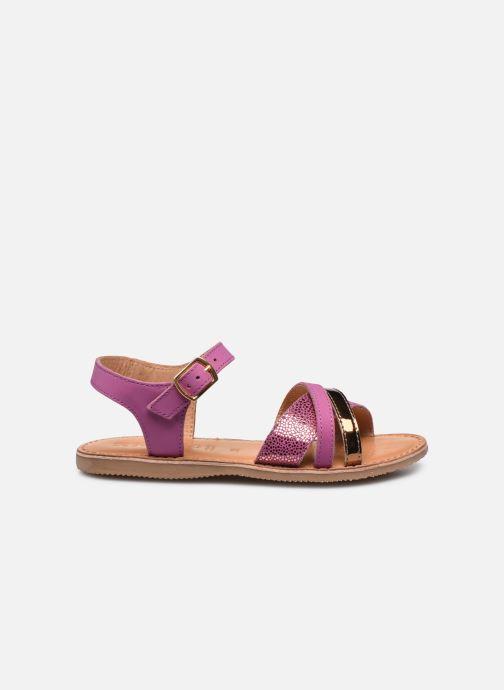 Sandales et nu-pieds Geox J Sandal Eolie Girl J02BSC Rose vue derrière