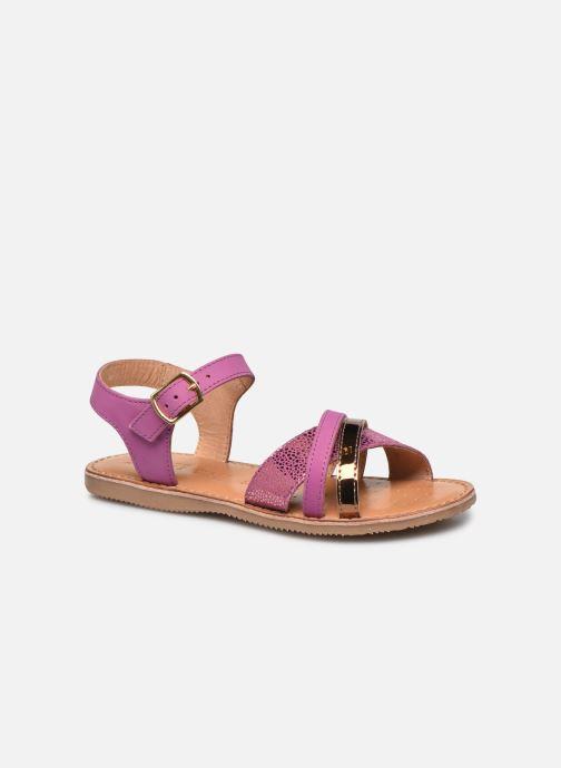 Sandales et nu-pieds Geox J Sandal Eolie Girl J02BSC Rose vue détail/paire