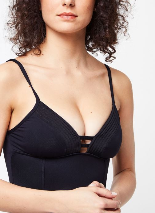 Vêtements Seafolly Quilted Maillot Noir vue face