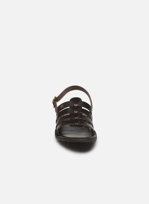 Sandali e scarpe aperte Les Tropéziennes par M Belarbi DISA Marrone modello indossato
