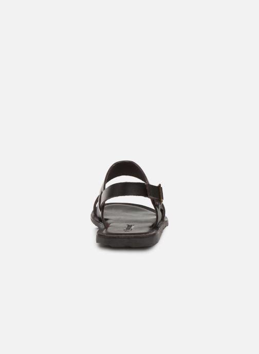 Sandales et nu-pieds Les Tropéziennes par M Belarbi DANDY Marron vue droite