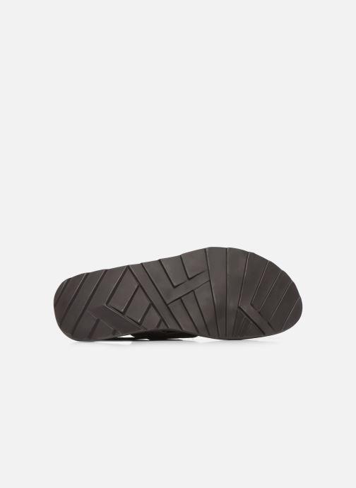 Sandales et nu-pieds Les Tropéziennes par M Belarbi DANDY Marron vue haut