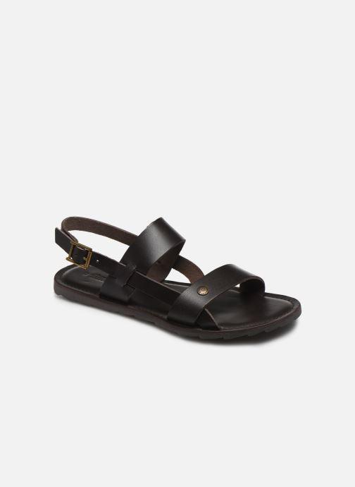 Sandales et nu-pieds Les Tropéziennes par M Belarbi DANDY Marron vue détail/paire
