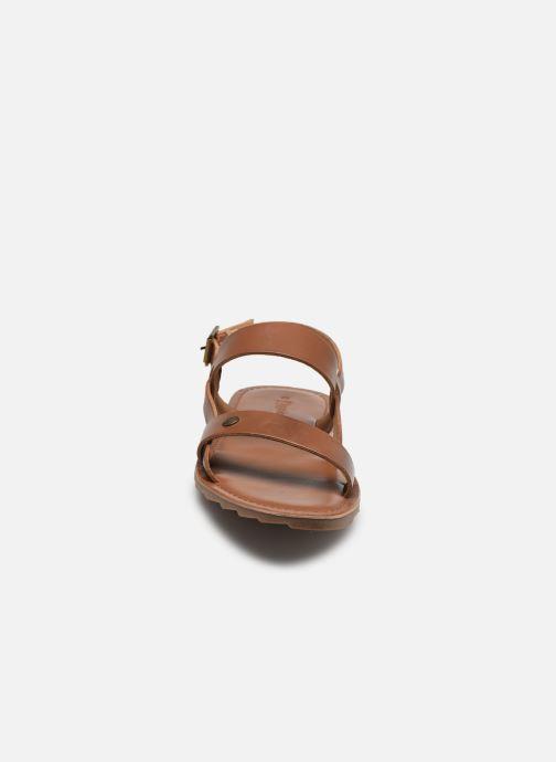 Sandali e scarpe aperte Les Tropéziennes par M Belarbi DANDY Marrone modello indossato