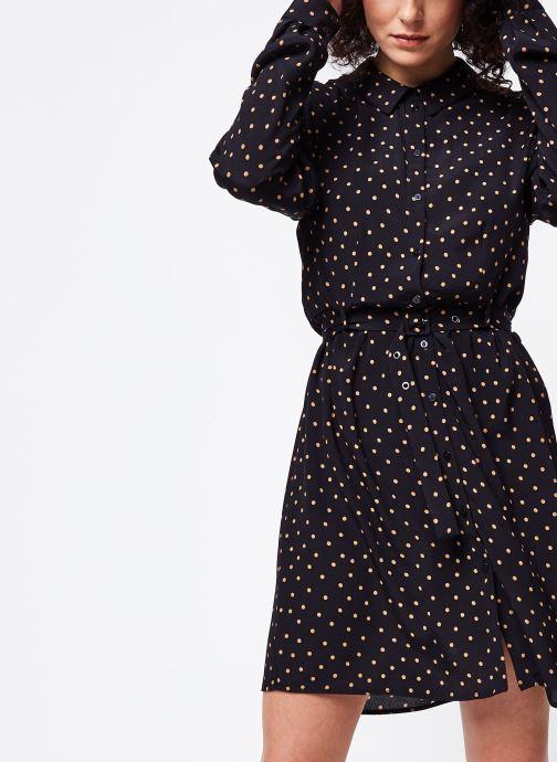 Vêtements Vila Visuela L/S Shirt Noir vue détail/paire